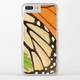 Monarch Butterfly 2 Clear iPhone Case