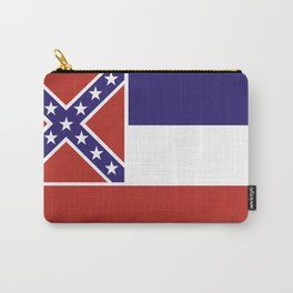 mississippi state flag united states of america country Carry-All Pouch