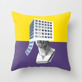 sns Throw Pillow