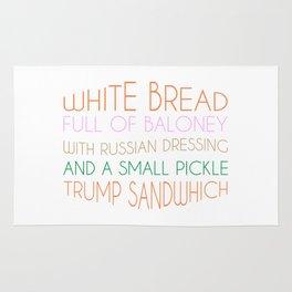 Trump Sandwhich Rug