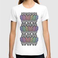 tigers T-shirts featuring Rainbow tigers by Veronique de Jong · illustration