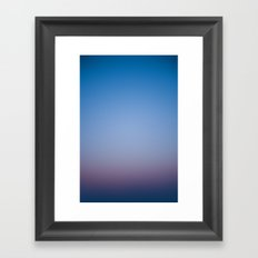 Sunset Gradient 2 Framed Art Print