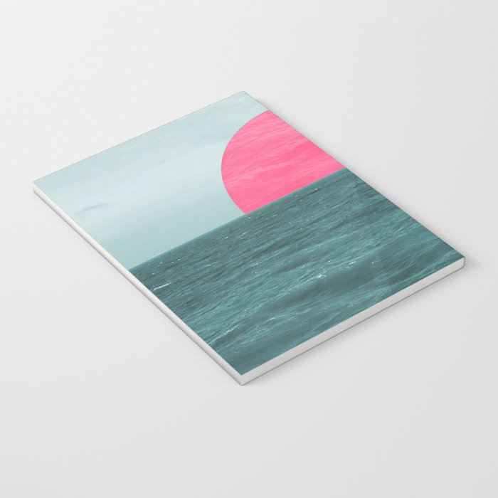 Magenta Sunset Notebook