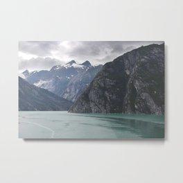 Ocean & Sky - Alaska Metal Print