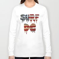 dc Long Sleeve T-shirts featuring Surf DC by G. Shapero