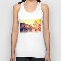 rome Tank Tops featuring Rome by takmaj