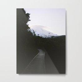 Mt Taranaki Metal Print