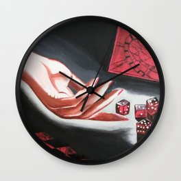 Life game Wall Clock