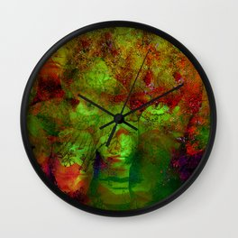 The clairvoyant of Harlem Wall Clock