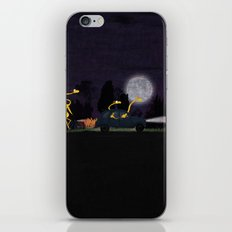 Voyage by night II (animal party) iPhone & iPod Skin