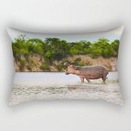 The Call (Of The Wild) Rectangular Pillow