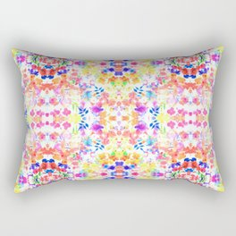 Floral Print - Brights Rectangular Pillow