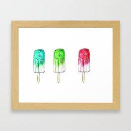 Summer Cool Framed Art Print