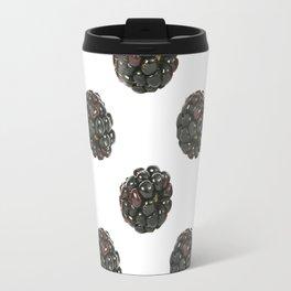 Blackberry.Fruit pattern. Travel Mug