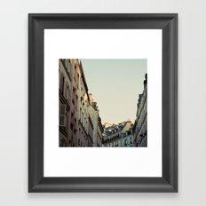 Pastel Paris Framed Art Print