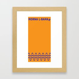 Morna l-Bahar  Framed Art Print