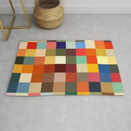 Kaukas - Colorful Decorative Abstract Art Pattern Rug
