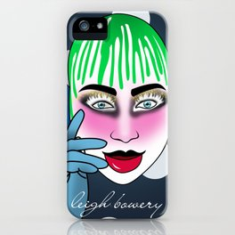 lee bowery iPhone Case