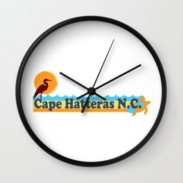 Cape Hatteras - North Carolina. Wall Clock