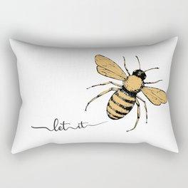 Let it Bee Rectangular Pillow