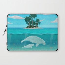 Manatee Island Laptop Sleeve