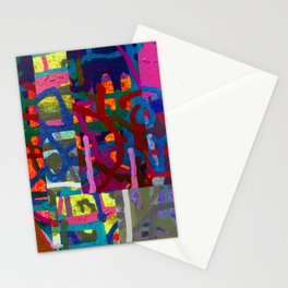 Colorful abstraction Stationery Cards