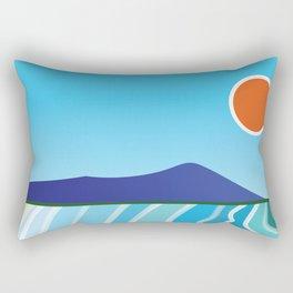 Diamond Head Rectangular Pillow