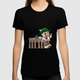 I LOVE BERLIN Brandenburg Gate Germany German T-shirt