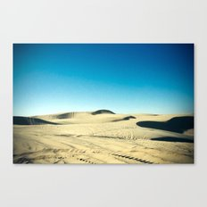 shifting sand Canvas Print