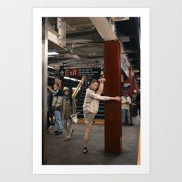Random Acts of Dancing 6 Art Print