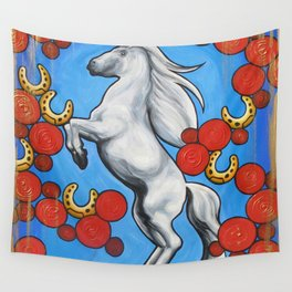 'HORSESHOES' - Ruth Priest Wall Tapestry