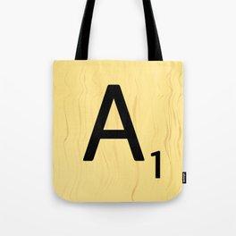 Scrabble A Decor, Scrabble Art Prints, Large Scrabble Prints, Word Wall Art, Home Decor, Wall Decor Tote Bag