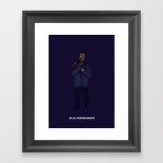 Gus Fring Framed Art Print