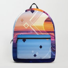 Abstract Geometric Collage II Backpack