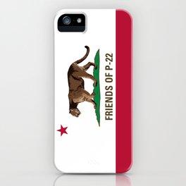 Friends of P-22 iPhone Case