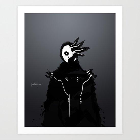 Maskmen no.3 Art Print