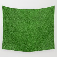 Green Grass Wall Tapestry
