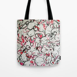 Bunnyliscious Tote Bag