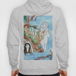 Meeting in the mist Hoody