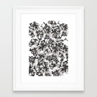 orchid Framed Art Prints featuring orchid by GYYART