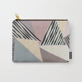 Modern irregular Stripes 03 Carry-All Pouch