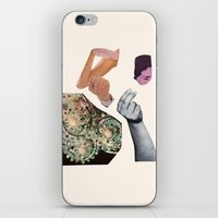 notebook iPhone & iPod Skins featuring NOTEBOOK II by Beth Hoeckel