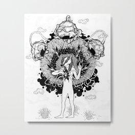 Groundwalker Metal Print