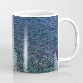 Colorful Transparent Blue and Aqua Sea On Crete Coffee Mug