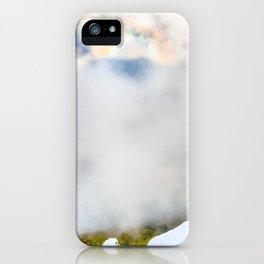 Halo in Caucasian ridge iPhone Case