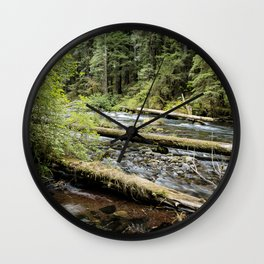 Forest Flow Wall Clock