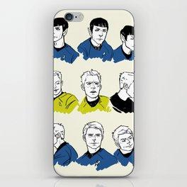 the holy trinity iPhone Skin