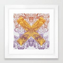 rage Framed Art Print