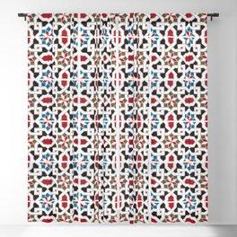 Morocco Pattern Oriental  Mosaic Design 2 Blackout Curtain