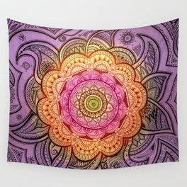 Colorful Mandala Wall Tapestry